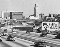Early Los Angeles Freeway
